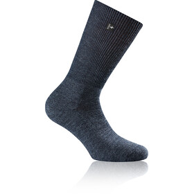 Rohner Fibre Light Quarter Socks blue denim